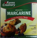 FARMS SWEET MARGARINE STICKS, 1LB