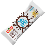 Grab and Go Snack  Comprised entirely of Greek yogurt and covered in a thin dark chocolate layer,  It is created through a process involving straining water from yogurt to obtain a strong consistency,  and voila, there���s your Yobar.  Has 25 Billion Probiotics  Packed with Iron