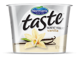 The Taste of Vanilla  Non Fat Yogurt can help get your day off to a great start! Ultimate mouth-watering yogurt experience.  You���ll love the all natural ingredients and the healthy goodness in every spoonful.