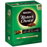 Taster's Choice Decaf House Blend Coffee, 20 Single Serve Packets