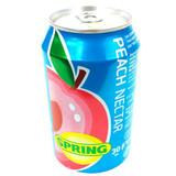 Spring Nectar, Peach, 11.2-Ounce Cans