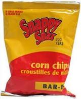 Snappy Snax Kosher BBQ Corn Chips - 28 grams