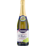 Kedem Sparkling White Grape Juice.  It is 100% pure juice with no added sugars.  It is perfect for parties, special occasions or any time you want a non-alcoholic carbonated natural refreshment.