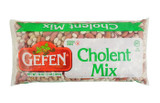Gefen?????? Cholent Mix. This product is gluten free and non GMO.