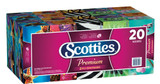 Scotties Original Facial Tissue, 2-ply, 123 sheets