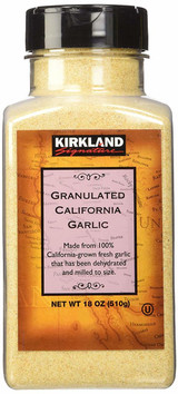 KIRKLAND GARLIC GRANULES 510G