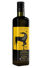 100% cold extracted Organic Extra Virgin Olive Oil.       Store in a cool, dark place.