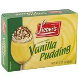 Lieber's Vanilla Pudding, 92g