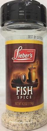 Lieber's Fish Spice, 119g