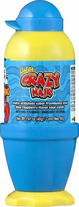 BLUE RASP CRAZY HAIR 40G