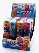 OPPENHEIME FR-OOZE Candy Pops with Fruit Flavored Candy Gel - 26 GRAMS