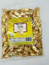 Zazers Foil Taffy Gold Peach Candy, 1lb