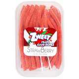 ZWEET STRAW SOUR ROPES 283G