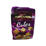 CHOCOLATE CUBE WAFERS 200GR