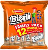 Osem BBQ Bissli Family 12pk, 35g