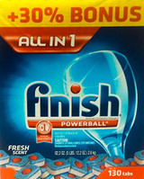 FINISH DISHWASHER DETERGENT 147PK