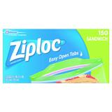 Ziploc Sandwich Bags 150pk