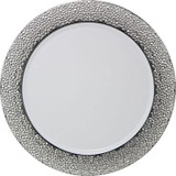 """Hammered Design Chargers 13"""" White-Silver - 2pk"""