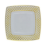 "Diamond Plate 7.6"" - 10pk (available in 3 colors)"