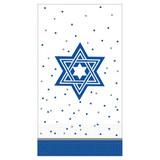 """4.5"""" x 7.8"""" Premium Hanukkah Guest Towels - 16pk"""