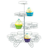 4 TIER WIRE SMALL CUPCAKE STAND