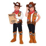 Woody Cowboy Costume - Western Sheriff for Boys & Girls Small (4-6 YRS)