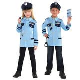 Traffic Cop Kids Costume Small (4-6 YRS)