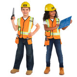 Construction Worker Kids Costume Small (4-6 YRS)