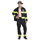 Fireman Costume - Adult Plus Size XL (44-46)