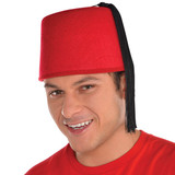 MOROCCAN RED HAT 1 SIZE