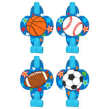 SPORTS PARTY BLOWOUTS 8PK