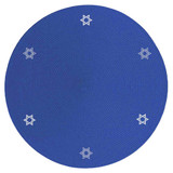 Round Star Of David Placemat