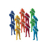 COLORED PARACHUTE MEN 12PK