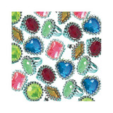 ASSORTED JEWEL RINGS 18PK