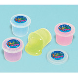 GLITTER PUTTY CONTAINERS 12PK