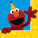 Elmo Sesame Street Lunch Napkins 16pk