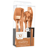 ROSEGOLD CUTLERY COMBO 32 CT