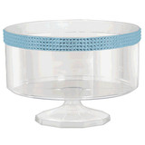 """6"""" Trifle Container with Colored Gems 1 Ct (available in 3 colors)"""