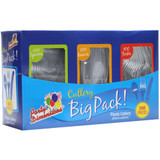 Clear Plastic Cutlery Combo Box - 1 set 300 Count