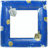 "10"" Chanukah Square Paper Plates 12 Count"