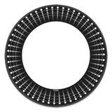 "Black Decor - 10"" Plate - 18 count"