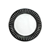 "Black Decor - 7"" Plate - 36 count"