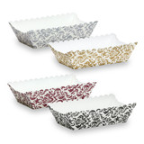Elements - Rectangle Mini Loaf Baking Pans - Assorted Colors - 12 Count