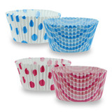 """Elements - 2"""" Baking Cups - Pink/ Blue - 50 Count"""