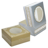 Elements - Cookie Gift Boxes - Gold/Silver - 5 Count