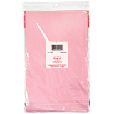 """84"""" Pink Round Plastic Tablecover"""