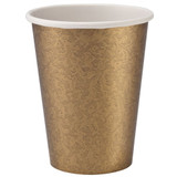 Gold Texture 9oz Hot/Cold Paper Cup 24 Ct.