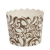 Scalloped gold/white design Large Baking Cup (16 Count)