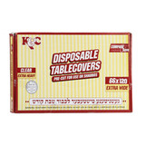 Clear Heavy Duty Tablecloths 66x120 (12 Count)