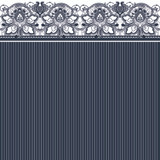 Lunch Napkins Lace Navy (20 Count)